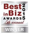 Best in Biz Award 2015 Silver